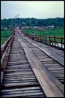 Wooden Bridge at Sangkhlaburi